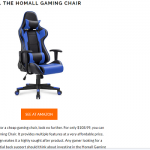 My PC gaming chair: PU-leather as well as fabric?